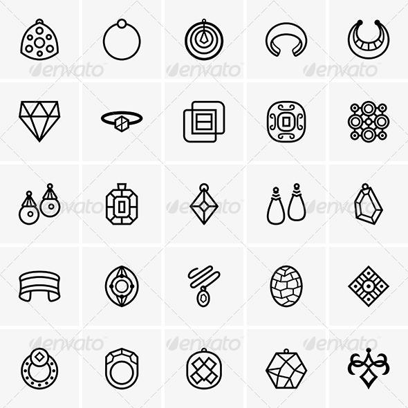 GraphicRiver Jewelry Icon 7521842