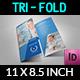 Hospital Tri-Fold Brochure Template Vol.2 - GraphicRiver Item for Sale