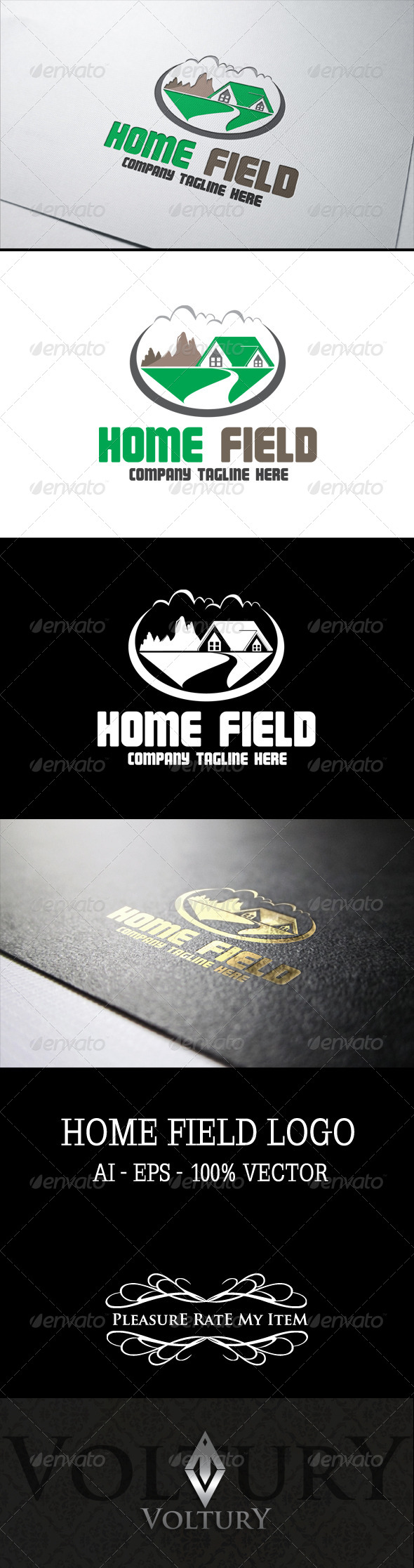 GraphicRiver Home Field Logo 7522151
