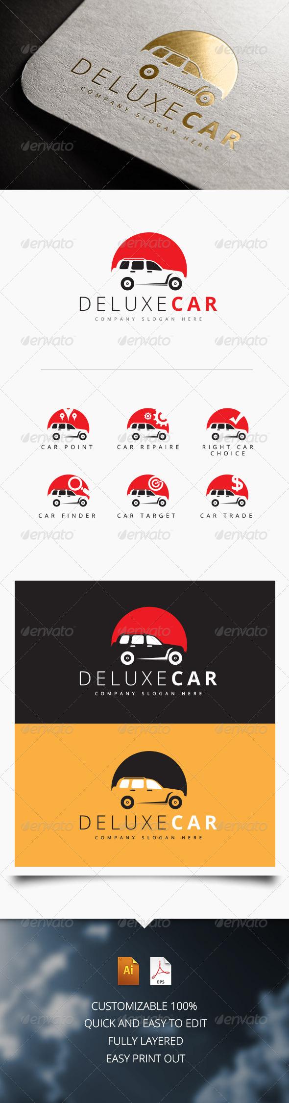 Deluxe Car Logo