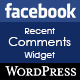 Facebook Recent Comments Widget for Wordpress