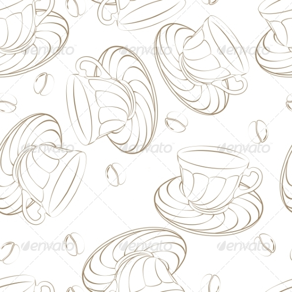 GraphicRiver Coffee Pattern 7523263