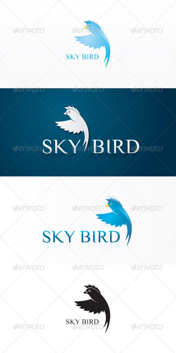GraphicRiver Sky Bird Stock Logo Template 7523270
