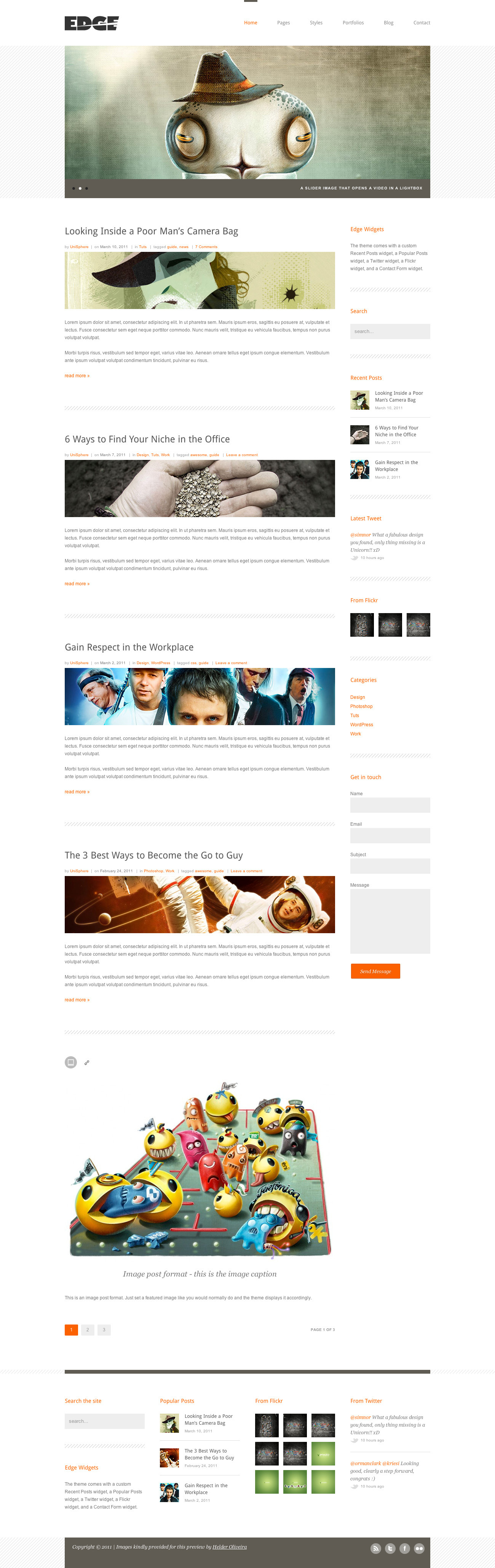 Edge - Professional Corporate and Portfolio WP