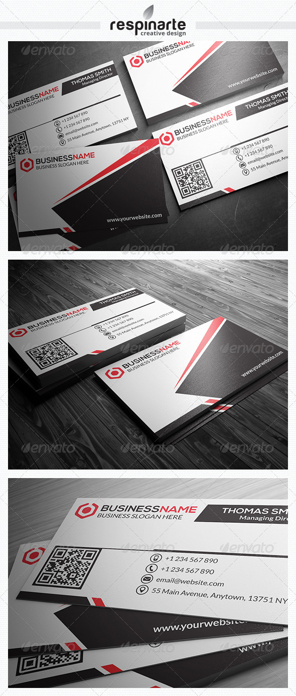 GraphicRiver Corporate Business Card RA5 7523410
