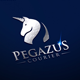 Pegazus Courier Logo Template - GraphicRiver Item for Sale