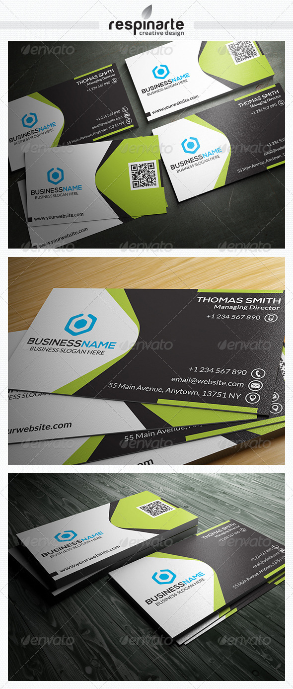 GraphicRiver Corporate Business Card RA8 7525111