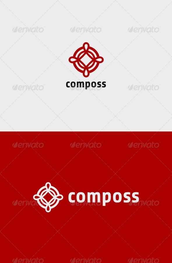GraphicRiver Composs Logo 7525116