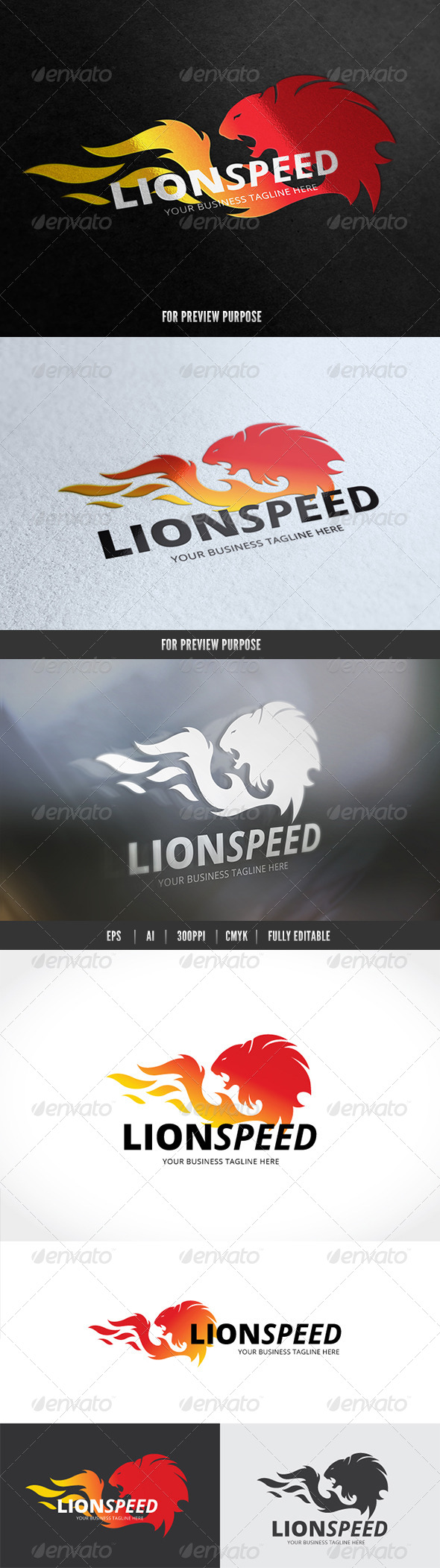 GraphicRiver Lion Speed 7525151
