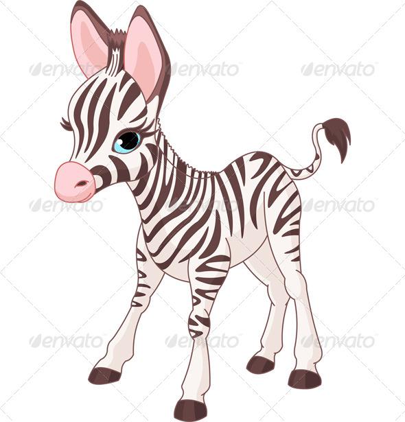 GraphicRiver Zebra Foal 7525226