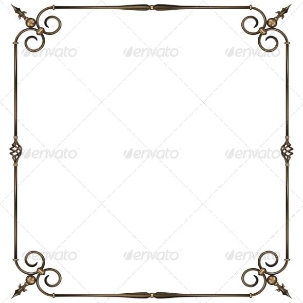GraphicRiver Iron Frame 7525271