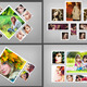3D Photo Box Template V-2
