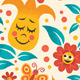 Cartoon Floral Pattern - GraphicRiver Item for Sale