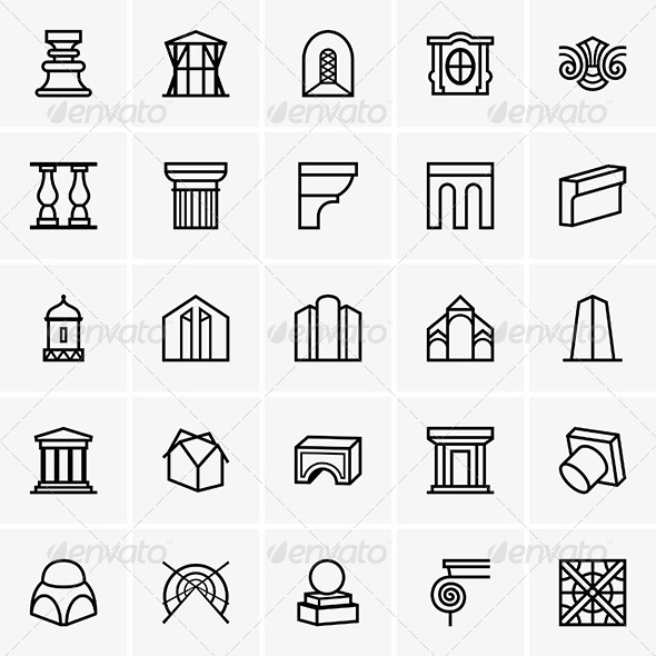 Architecture Icons
