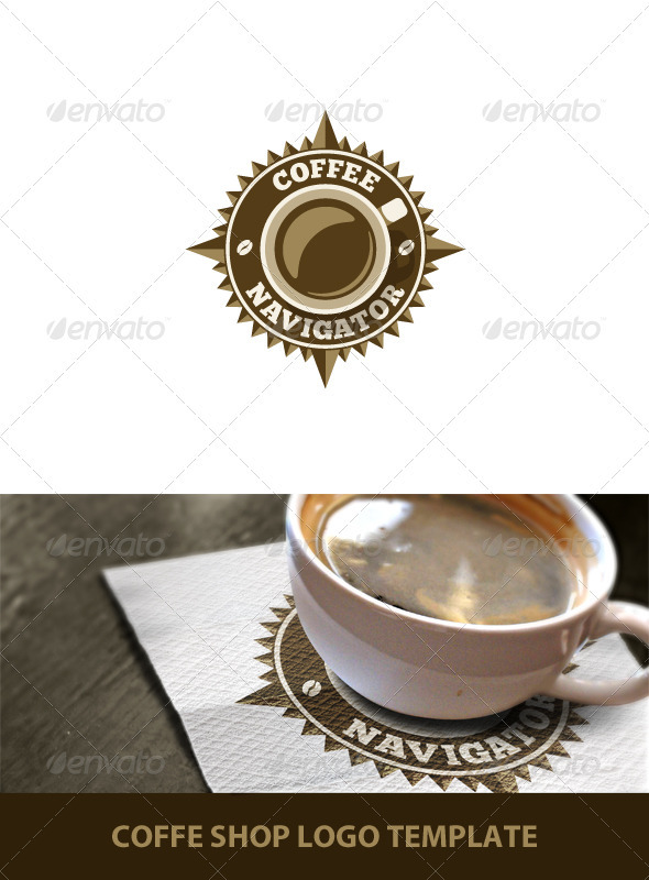GraphicRiver Coffee Shop Logo Template 767657