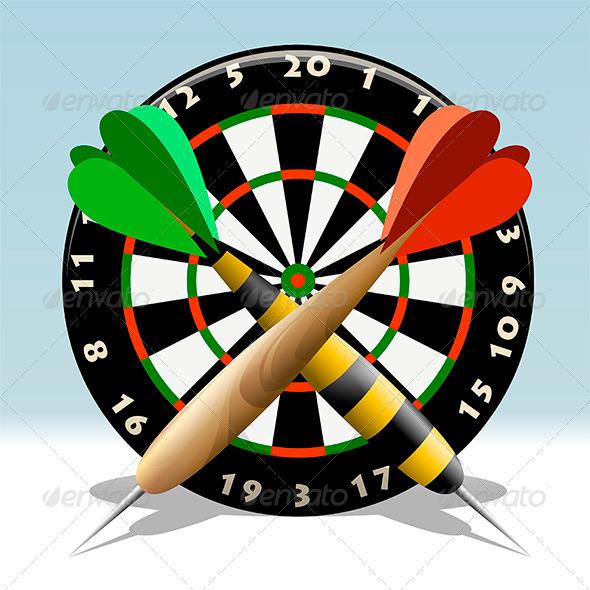GraphicRiver The Dartboard 7527950