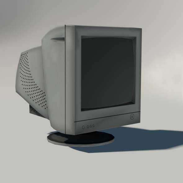 3DOcean Old CRT Monitor 7528163