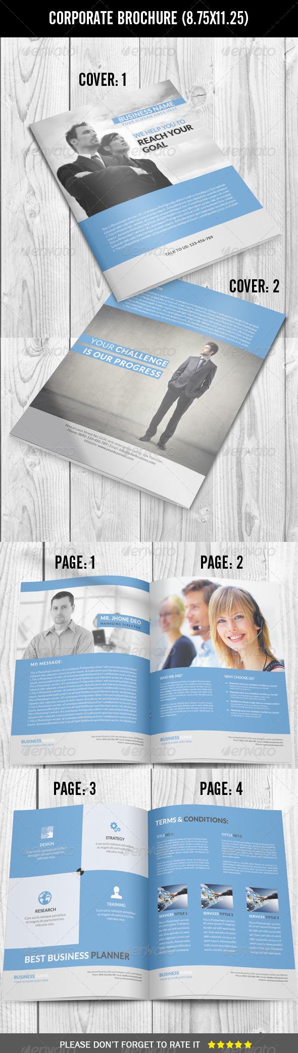 GraphicRiver Corporate Brochure 7528497