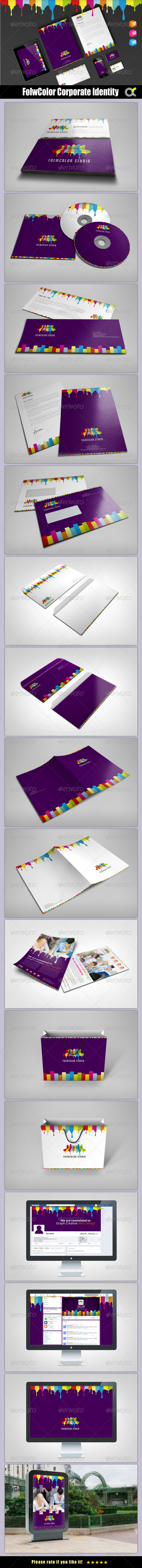 GraphicRiver FolwColor Studio Corporate Identity 6954952