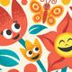 Cartoon Floral Border - GraphicRiver Item for Sale