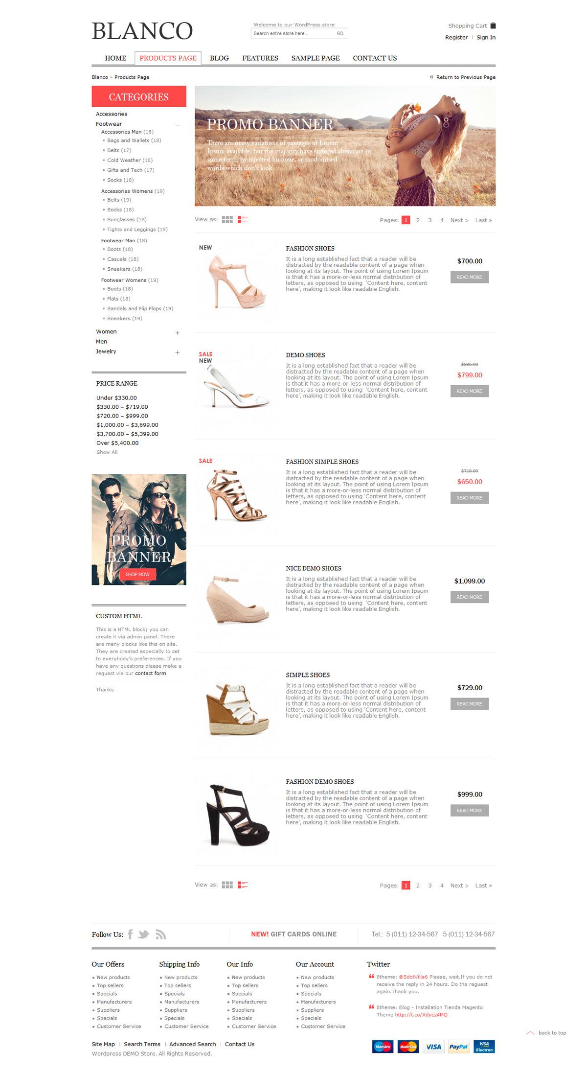 Blanco - Responsive WordPress Woo/E-Commerce Theme