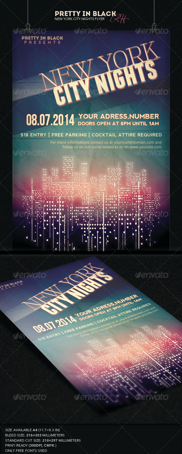 GraphicRiver New York City Flyer 7531161