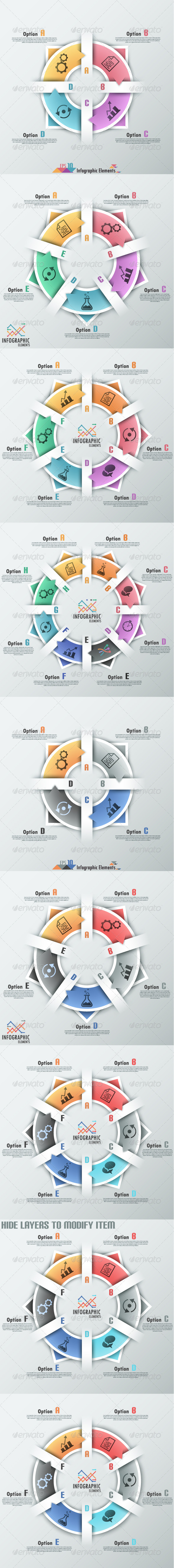 GraphicRiver Modern Infographic Options Banner Seven Versions 7531196
