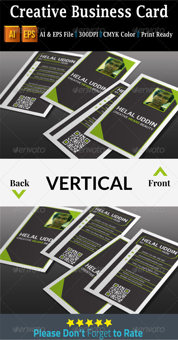 GraphicRiver Creative Business Card 7528783