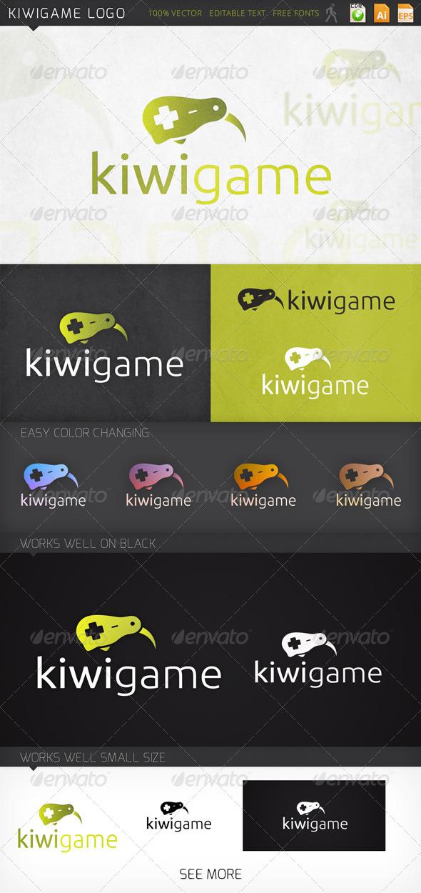 GraphicRiver Kiwigame logo 7532536