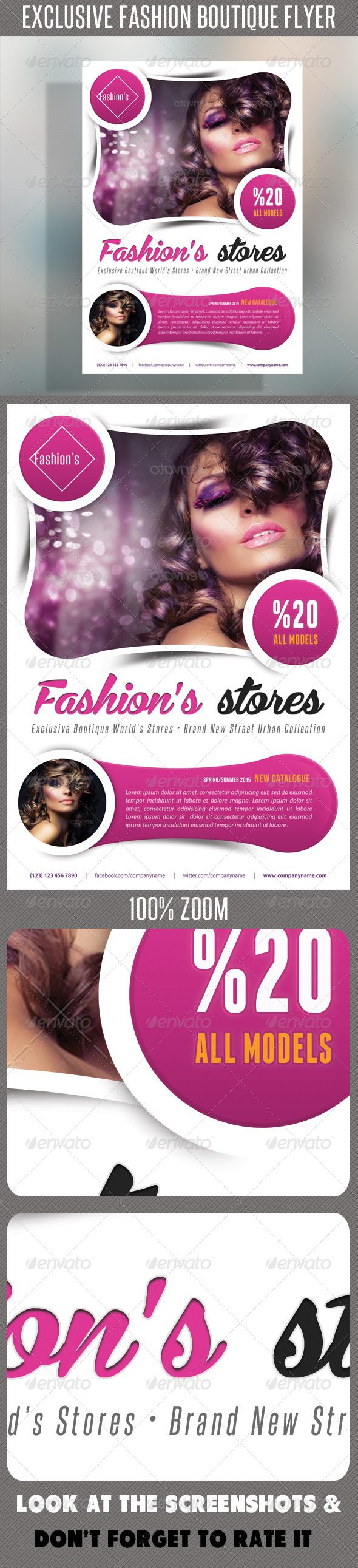 GraphicRiver Fashion Product Flyer 53 7532949