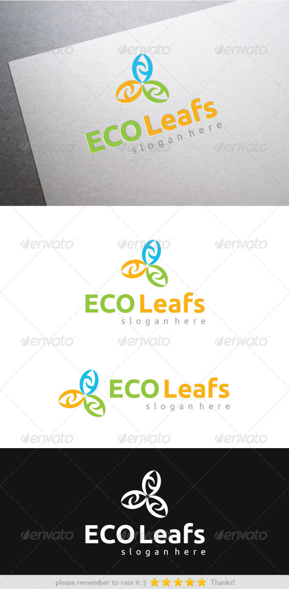 GraphicRiver ECO Leafs 7533105