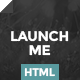 Launch.me - Clean Landing Page - ThemeForest Item for Sale