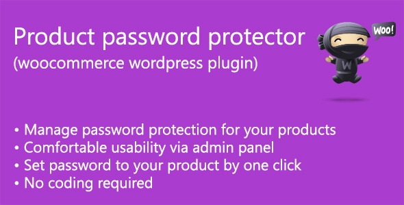 CodeCanyon Product password protector woocommerce 7481489