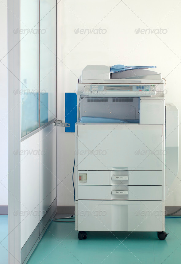 Stock Photo - PhotoDune Multifunction printer 774132