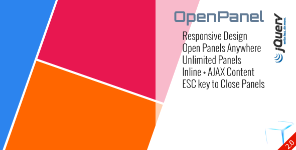 OpenPanel - Open Responsive Panel Anywhere - CodeCanyon Item for Sale
