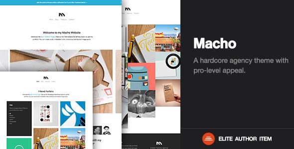 ThemeForest Macho Creative Agency & Business WordPress Theme 7423392