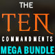 The 10 Commandments: Church Flyer Mega Bundle - GraphicRiver Item for Sale