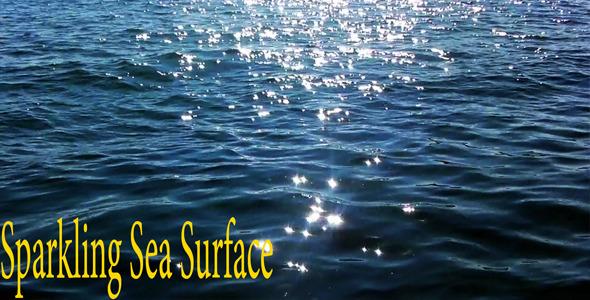Sparkling Sea Surface
