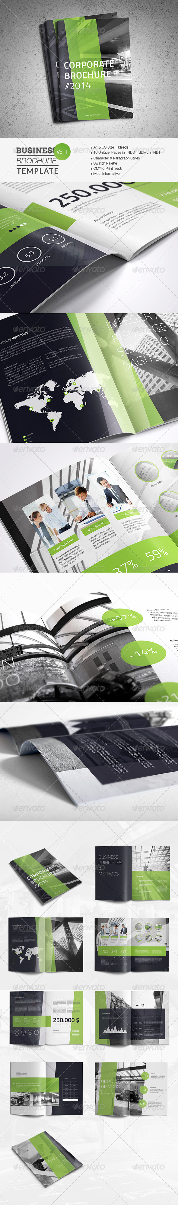 GraphicRiver Business Brochure Template 7535741