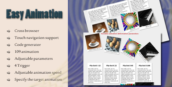 CodeCanyon Easy Animation 7536278