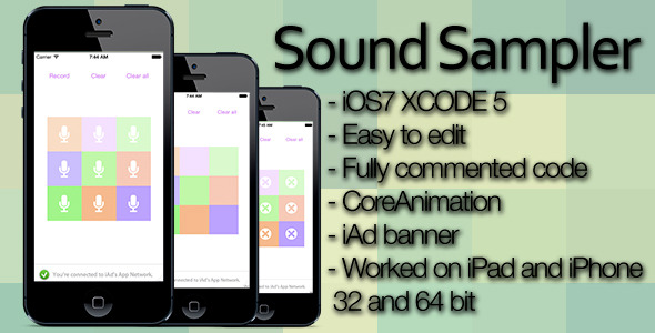 CodeCanyon Sound Sampler App &iAd 7536563
