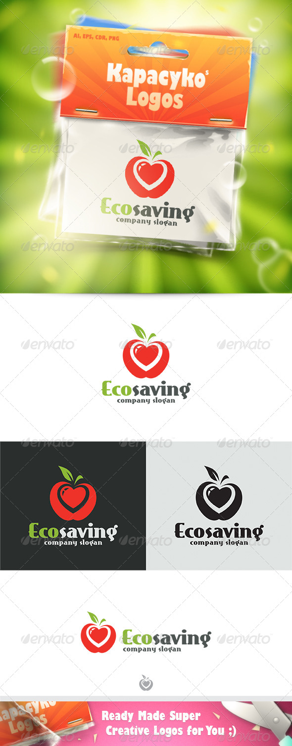 GraphicRiver Ecosaving Logo 7539229