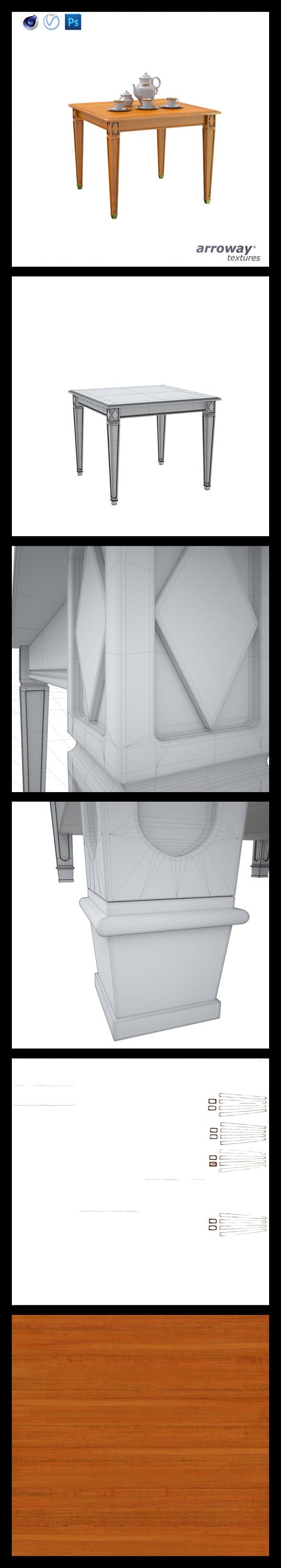 Triant Harmony 601 Hi-Poly - 3DOcean Item for Sale