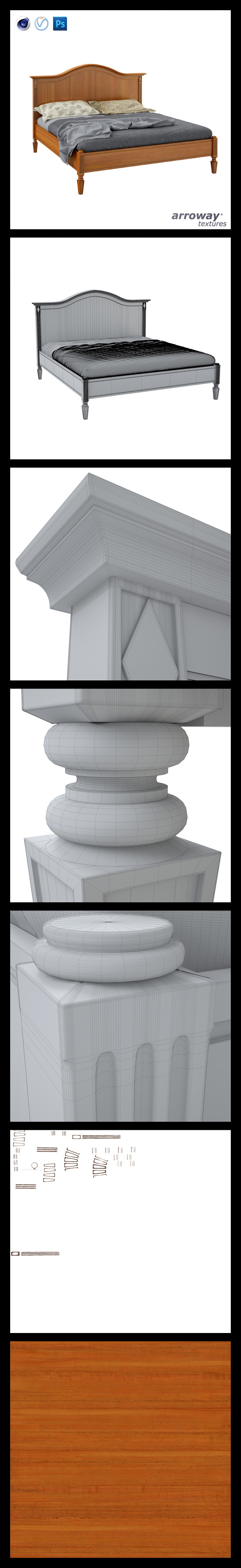3DOcean Triant Harmony 750 Hi-Poly 7541004