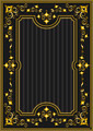 Classical Gold Frame with Oriental Pattern - PhotoDune Item for Sale