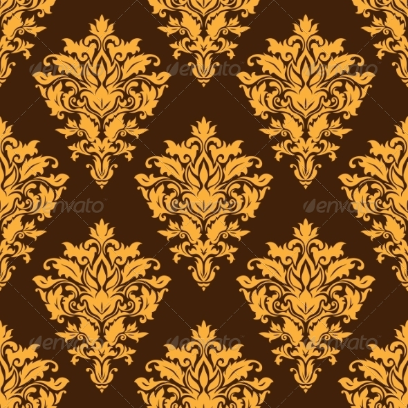 GraphicRiver Damask Pattern 7541346