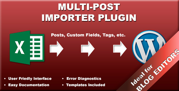 CodeCanyon Multi-Post Importer Plugin 7541675