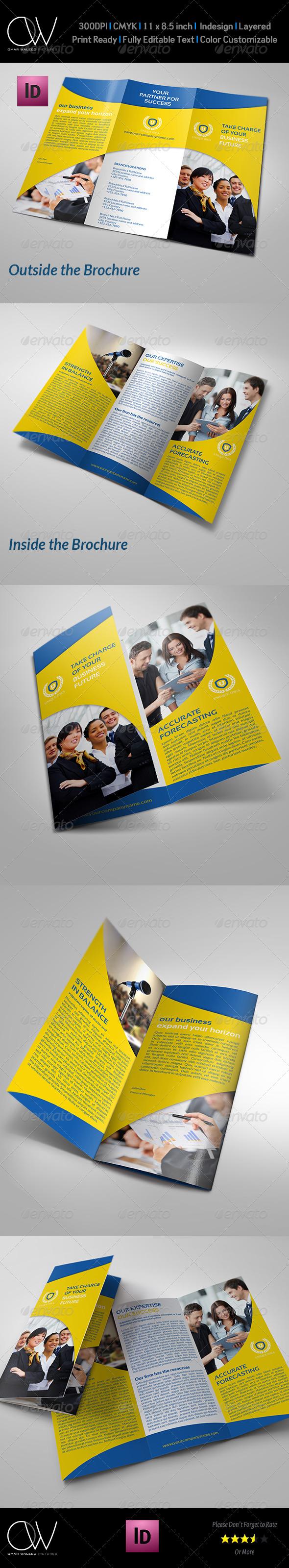 GraphicRiver Company Brochure Tri-Fold Brochure Vol.8 7541807