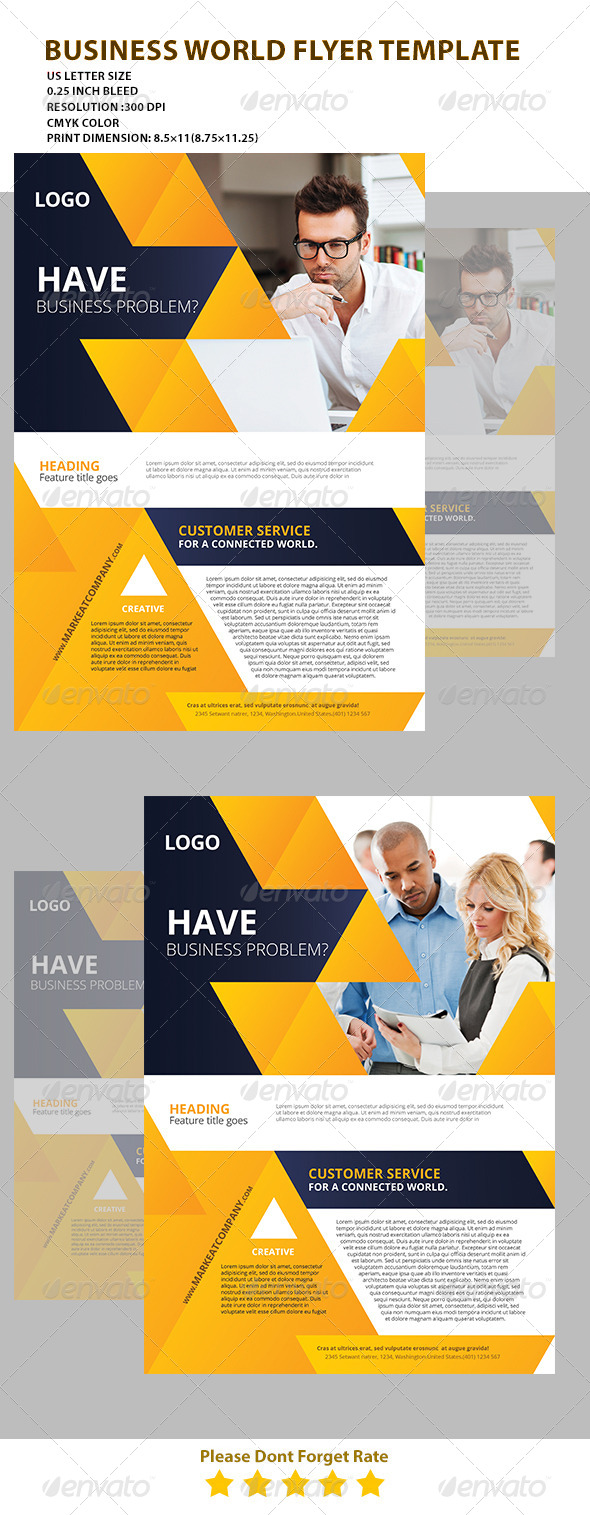 GraphicRiver Modern Creative Flyer Top 4 7542279