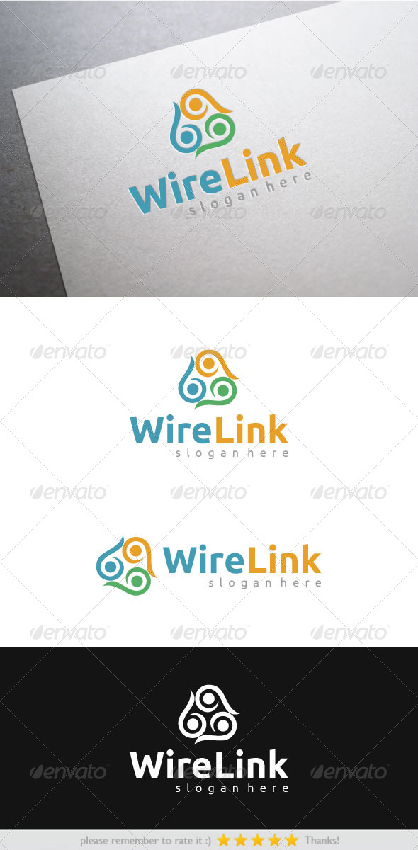 GraphicRiver Wire Link 7542290
